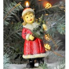 Свеча Снегурочка N7123