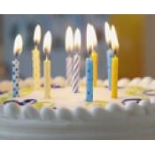 Свечи тортовые