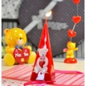 Свечи к дню Св. Валентина