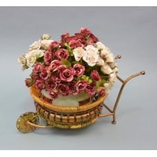 """Подставка под цветы """"Тележка"""" B9669"""
