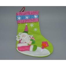 Новогодний носок для подарков CR1347