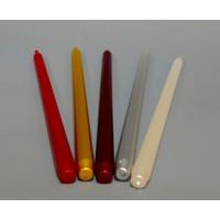 Свеча столовая металлизированная 094-02