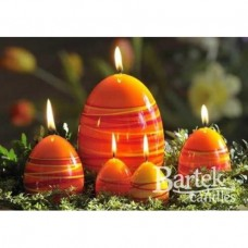 "Свеча ""Пасхальное яйцо"" 60*80мм  SW0182"