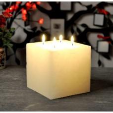 Свеча растикальная квадрат 130*110 S614