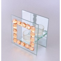 Подсвечник стекло SH002