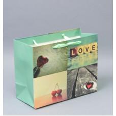 """Подарочный пакет  """"С любовью""""  маленький TF4131-1"""