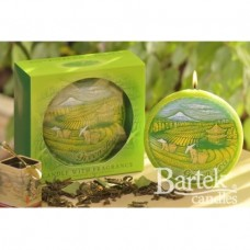 "Свеча ""Зеленый чай"" диск SW933"