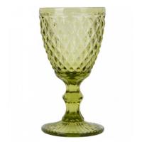 "Бокал стекло ""Rhombus small"" зеленый VB716"