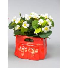 """Цветы в вазонах """"Фиалка""""   SU301"""