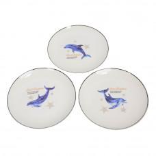 "Тарелка обеденная  20 см ""Dolphin"" TR045"