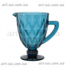 """Графин """"Rhombus"""" синий VB214"""