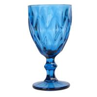 """Бокал стекло  """"Rhombus"""" синий VB722"""