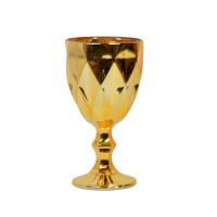"""Бокал стекло """"Rhombus"""" золото VB867"""
