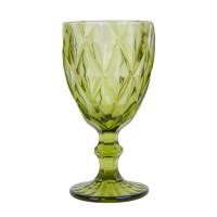 """Бокал стекло  """"Rhombus"""" зеленый VB724"""