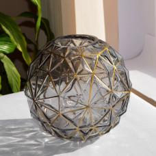 """Ваза стекло """"Ball"""" 19см ZG325"""