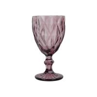 """Бокал стекло """"Rhombus"""" фиолетовый VB795"""