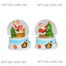 """Новогодний снежный шар """"Санта"""" NG048"""