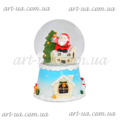 Музыкальный снежный шар  NG052