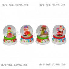 Новогодний снежный шар NG345