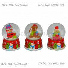 Новогодний снежный шар NG347
