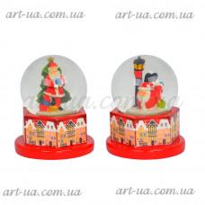 """Новогодний снежный шар """"Houses"""" NG712"""