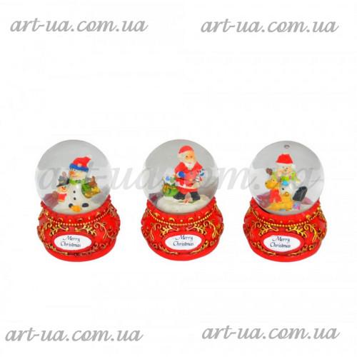 Новогодний снежный шар NG905