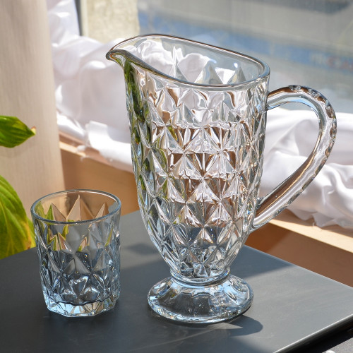 "Набор кувшин и 6 стаканов ""Meline"" VB342"