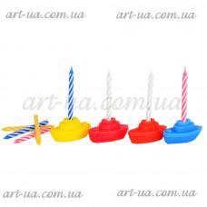 """Свеча для торта """"Кораблики"""" G240"""