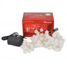 Светодиодная гирлянда шарики-пучок LED 100 GR107