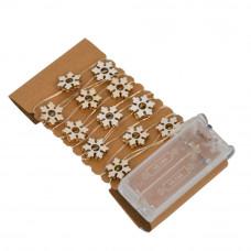 Светодиодная гирлянда нить на батарейках LED 20 GR108