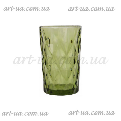 """Стакан """"Rhombus large"""" зеленый 350мл VB726"""