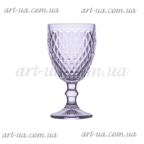 """Бокал стекло """"Rhombus small"""" прозрачный VB855"""