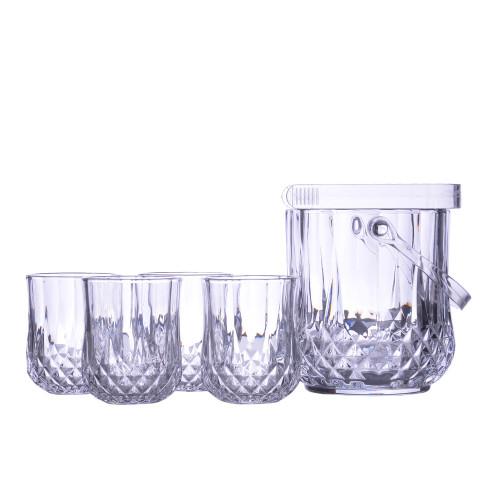 Набор 4 стакана и ледница VB332