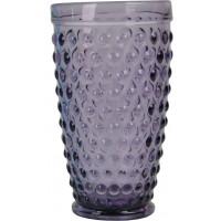 "Стакан стекло ""Balloons"" фиолетовый  VB730"