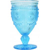 "Бокал стекло ""Fairy tale"" голубой VB733"