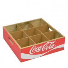 """Бокс с разделителями """"Coka-Cola""""  PR133"""