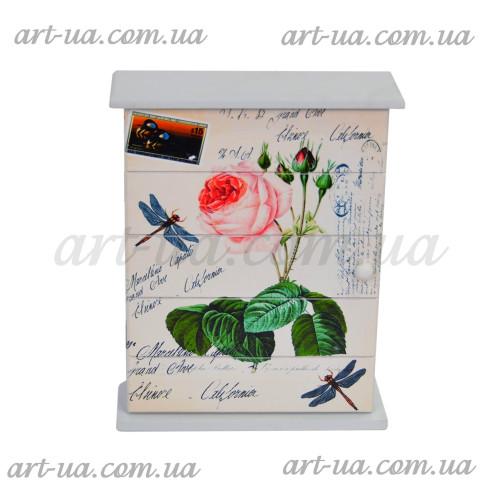 """*Ключница настенная """"Love"""" PR326"""