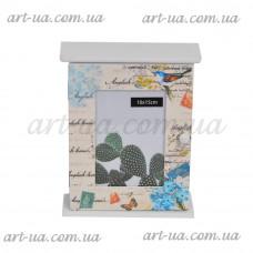 """*Ключница с фоторамкой """"Carte postale"""" PR327"""