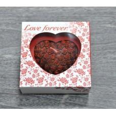 Свеча Love Forever сердце большое S7059