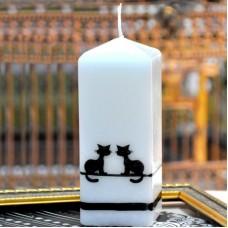 Свеча Koty квадрат  50*150 S579