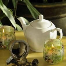 """Свеча в стакане """"Зеленый чай""""  S780"""