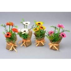"""Цветы в вазоне """"Ромашки""""  SU484"""