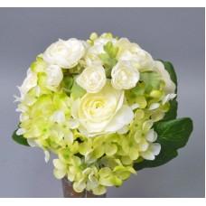 Букет из роз и гортензии  SUB023